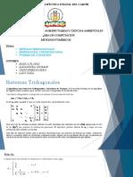 Sistemas Tridiagonales, Número de Condición