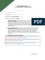 benvenuti te802 assignment 3  persuasive writing- november
