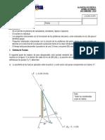 1 Parcial (Sistema de Fuerzas) (1-2015)
