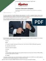 Bolsonaro Altera Decreto de Armas e Libera Porte a Advogados - Migalhas Quentes