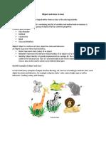 Object & DataTypes