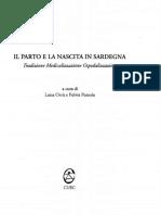 Il Parto e La Nascita in Sardegna