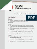 Goldstream Mining