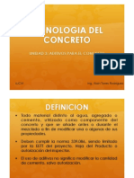 Unidad 3 Aditivos para el concreto.pdf