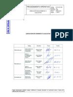 TS-PO-OC-003 (00) Ejecución de Sondeos o Calicatas