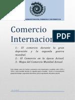1.- Comercio Durante La Gran Depresión y La Segunda Guerra Mundial