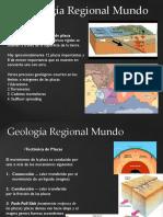Geología Regional Mundo