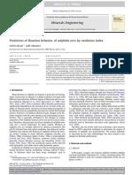 Prediction of flotation behavior of sulphide ores by oxidation index.pdf