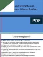 Internal Environment Evaluation