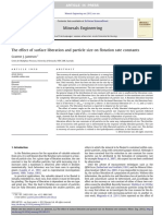 the effect of surface liberation and particle size on flotation.pdf