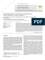 A relationship between the bubble–particle attachment time and the mineralogy of a copper–sulphide ore.pdf