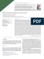 Benchmarking flotation performance Single minerals.pdf