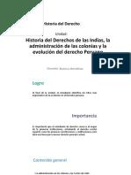 HISTORIA DEL DERECHO DE LAS INDIAS