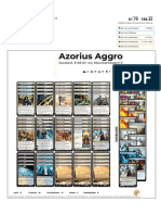 Azorius Aggro by MountainMaster13 Visual Deck View