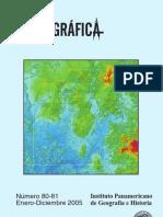revista cartografica ipgh