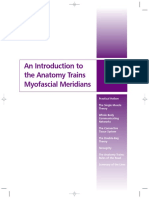 An Introduction to the Anatomy Trains Myofascial Meridians