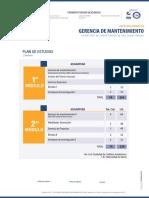 Pensum Gerencia Mantenimiento ECCI