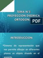 PROYECCION DIEDRICA ORTOGONAL