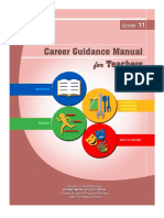 G11 Career Guidance Manual for Teachers