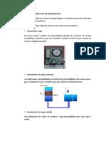 Unidad III. Metodos Para La Determinacion de Permeabilidad