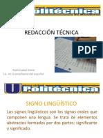 El Signo Linguístico