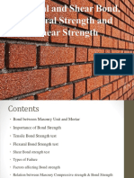design of masonry
