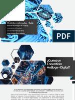Módulo Convertidor Analógico - Digital - Microcontroladores..pptx