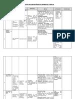 Matriz Para La Elaboracion Del Plan Anual