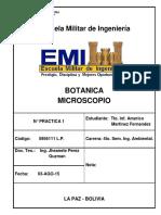Botanica - Microscopio Biologia