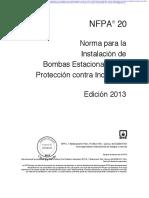 NFPA 20 - Año 2013 - INSTALACION BOMBAS.pdf