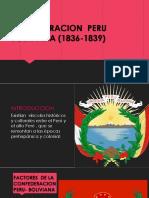 Confederacion Peru Boliviana (1836-1839)