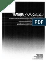 Yamaha AX 350
