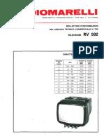 Radiomarelli televisore RV592.pdf
