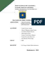Tratado de Libre Comercio Perú Honduras,Venezuela,Costa Rica