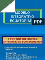 Modelo Integrativo Ecuatoriano