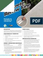 10011126 Concrete Renew Fine Sp