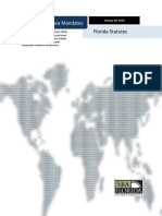 Global Governance Mandates and Florida Statutes 2019-01-29