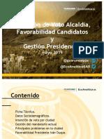 Con 61.8% Pumarejo lidera intención de voto