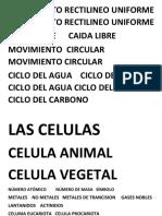 MOVIMIENTO RECTILINEO UNIFORME      MOVIMIENTO RECTILINEO UNIFORME.docx
