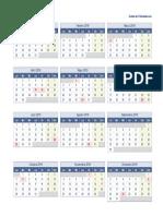 Plantilla 2019 Una Pagina