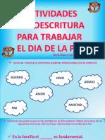 Actividades Lectoescritura Para Trabajar El Dia de La Paz