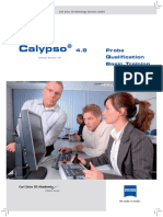 Calypso Basic Training - Calibrate Probes