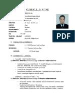 Currículum Cano Durand