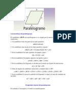Características Del Paralelogramo