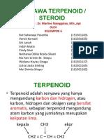 Kelompok 6 - Terpenoid Steroid