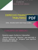 Derecho Financiero y Tributario i Fin de Semana