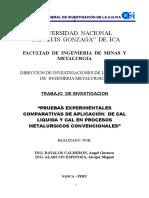 000 Informe Final de  Pruebas Experimentales Comparativas de Cal Liquida  -2015 - 2016 - Directiva 1-2015.doc