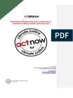 ACT - Cambio Climático
