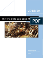 Historia de La Baja Edad Moderna Mundo