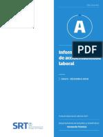 Informe Provisorio de Accidentabilidad Laboral